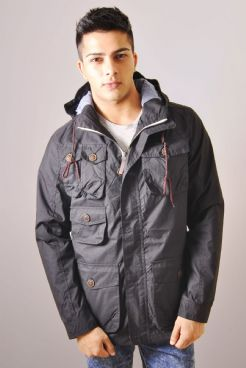 Lightweight Pocket Jacket In Black